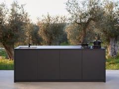 Cucina in alluminio con isolaM2 | Cucina - SACHI