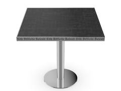 Tavolo quadrato in vetroM58 - SICIS