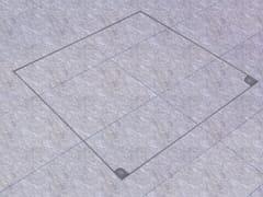 Chiusino a pavimento in acciaio inoxMA-GB | Botola di ispezione - FF SYSTEMS