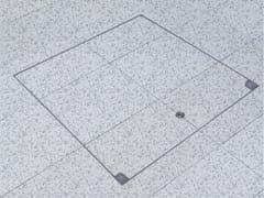 Chiusino a pavimento in acciaio inoxMA-GBZ | Botola di ispezione - FF SYSTEMS