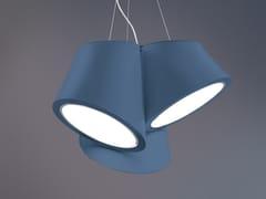 Lampada a sospensione a LED a luce diretta in materiale sintetico in stile moderno MABELL S3 G - Mabell