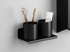 Portaspazzolino a muro in acciaio inoxMACH 2 | Portaspazzolino - AGAPE