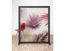 Pannello divisorio floreale in IMPEX® e struttura in legnoMACRO MIAMI - SPAZIO 81