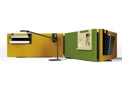 Pannello divisorio da scrivania mobileMADISON   Pannello divisorio da scrivania - MANADE