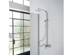 Colonna doccia a parete con doccettaMADRID - WEISS-STERN