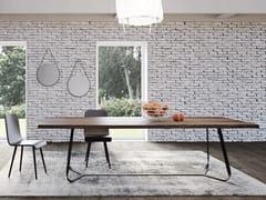 Tavolo rettangolare in legno masselloMAESTRALE | Tavolo - BAREL