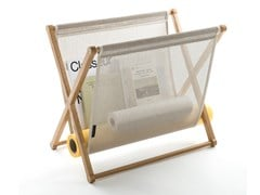 Portariviste in rovere MAGAZINE RACK - WOODNOTES