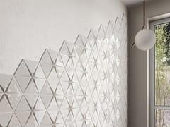 EQUIPE CERAMICAS, MAGICAL 3 Rivestimento tridimensionale in ceramica a pasta bianca