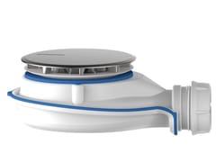 Piletta per piatti doccia con sifonatura magneticaMAGNETECH | Piletta - REDI
