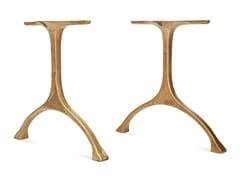 NORR11, MAIDEN | Base per tavoli in ottone  Base per tavoli in ottone