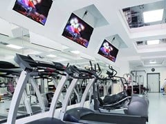 Supporto per monitor/TV motorizzato da soffitto MAIOR FLIP® 100 -