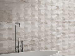 Rivestimento tridimensionale in ceramica a pasta bianca effetto marmoMAJESTIC | Rivestimento tridimensionale effetto marmo - INDUSTRIE CERAMICHE PIEMME