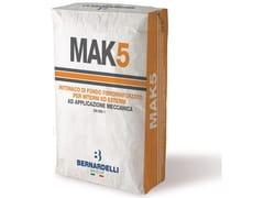 Bernardelli Group, MAK5 Malta premiscelata da intonaco ad applicazione meccanica
