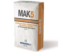 Malta premiscelata da intonaco ad applicazione meccanicaMAK5 - BERNARDELLI GROUP