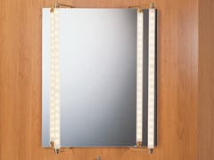 Lampada da specchio a LED in ottoneMAKE UP 4 - BETEC LICHT