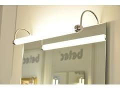 Lampada da specchio a LED in ottoneMAKE UP 7 - BETEC LICHT