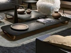 Tavolino basso rettangolare da salottoMALACCA - BAXTER