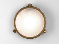Applique per esterno a LED in ottone e vetroMALIBU - ASTRO LIGHTING