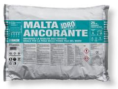 Bacchi, MALTA ANCORANTE IDRO Malta M10 idrofobizzata per posa primo corso muratura