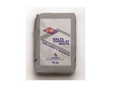 Collante e rasante in polvere a base minerale alleggerito, di colore biancoMALTA THERM.AT WHITE - ATTIVA