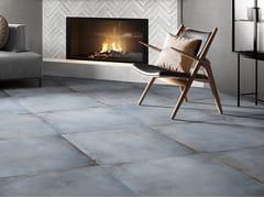 Pavimento/rivestimento in gres porcellanato effetto cementoMANHATTAN - CERAMICA RONDINE