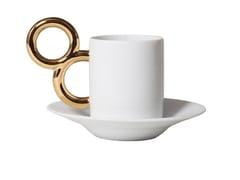 Tazza da caffè in porcellana con piattinoMANIÉRISTE | Tazza da caffè - EXTRANORM