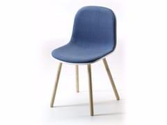 Sedia in tessuto con cuscino integrato MÁNI PLASTIC 4WL | Sedia in tessuto - Máni Plastic