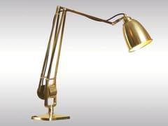 Lampada da scrivania in ottone MANTODEUS -