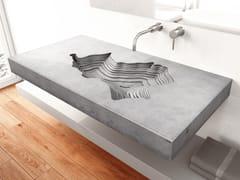 Lavabo in calcestruzzoMAP - GRAVELLI