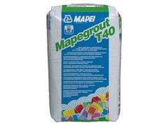 MAPEI, MAPEGROUT T40 Malta tissotropica fibrorinforzata per ripristini