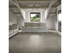 Pavimento/rivestimento in gres porcellanato effetto cementoMAPS   Dark Grey - CERIM FLORIM SPA
