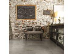 Pavimento/rivestimento in gres porcellanato effetto cementoMAPS   Graphite - CERIM FLORIM SPA
