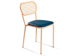 Sedia in ferro con cuscino integratoMAR   Sedia - DADRA