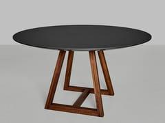 Tavolo rotondo in linoleum MARGO | Tavolo rotondo -