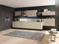 Cucina componibile lineare in laminato MARINA 3.0 | Cucina laccata -