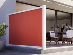 Schermo divisorio da giardino in alluminio e tessutoMARKILUX FORMAT - MARKILUX