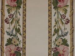 LELIEVRE, TASSINARI & CHATEL - MARLY BORDURE Tessuto ricamato in seta con motivi floreali