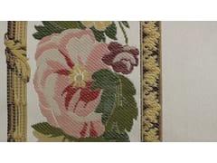 Tessuto ricamato in seta con motivi florealiTASSINARI & CHATEL - MARLY BORDURE - LELIEVRE