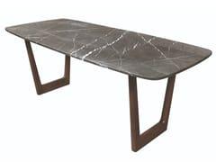 Tavolo rettangolare in marmoMARMINA - OLIVER B.