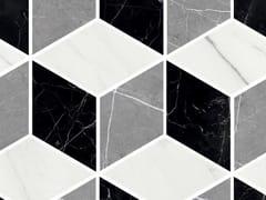 Mosaico in gres porcellanatoMARMO LAB | Mosaico cube mix - ARMONIE CERAMICHE
