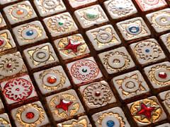 Mosaico in pietra lavicaMARMOFUSIONI | Mosaico in pietra lavica - ACQUARIO DUE CERAMICHE