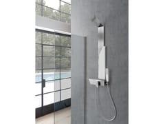 Colonna doccia a parete con doccettaMARMOLADA - WEISS-STERN
