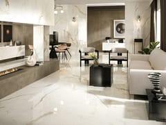 Pavimento in gres porcellanato effetto marmoMARVEL SHINE | Pavimento - ATLAS CONCORDE