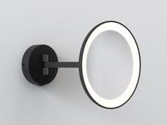 Specchio ingranditore a parete con illuminazione integrataMASCALI | Specchio ingranditore rotondo - ASTRO LIGHTING