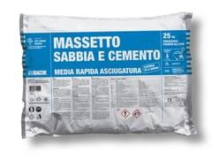 MASSETTO TRADIZIONALE IN SACCO PREDOSATOMASSETTO SABBIA CEMENTO - BACCHI