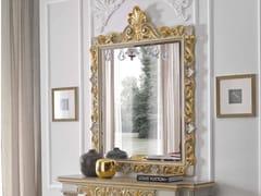 Specchio rettangolare in legno con cornice da pareteMASSIMO | Specchio - ARVESTYLE
