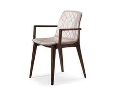 Sedia in tessuto con braccioliMASTER | Sedia con braccioli - PRESTIGE