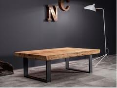Tavolino da caffè in legno masselloMASTER | Tavolino - DEVINA NAIS