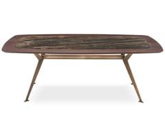 Tavolo rettangolare in legno con inserto in ceramica MASTER   Tavolo - Master