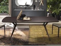 Tavolo rettangolare in legno MASTER   Tavolo in legno - Master
